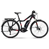 E-Bike Haibike XDURO Trekking S 5.0 28' 11-G XT Damen Bosch Performance Speed schnelles Ebike bis 45 km/h, Rahmenhöhen:48, Farben:schwarz/rot matt