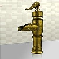 WYMBS Accessori per mobili creativo decorazione bagno Testa del drago europeo rame antico vanità