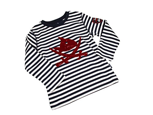 capt-n-sharky-beflockung-druck-t-shirt-medium-modell-12564-deko-