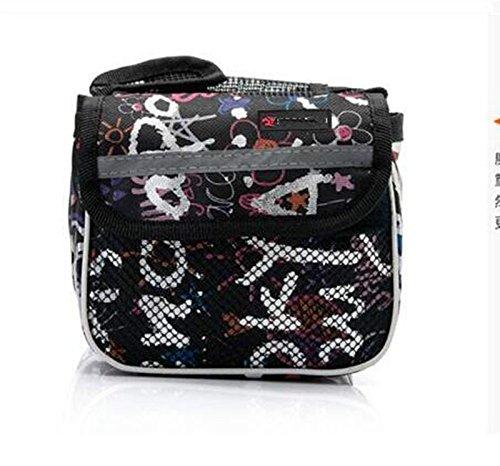 XY&GKMountain Bike Bag Rohr Sattel Tasche Multi Vor vorderen Trägers Tasche Charakter Double Bag, machen Ihre Reise angenehmer A