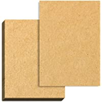 100 hojas, Papel Kraft Marrón A4, 100 g/m²