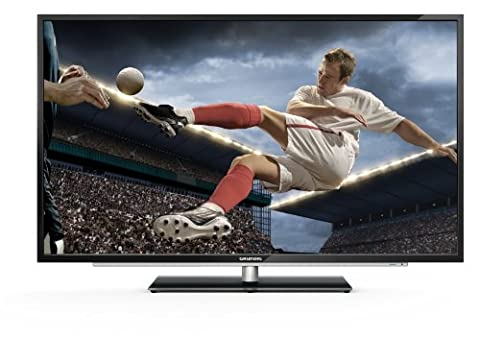 Grundig 55 VLE 9372 BL 139,7 cm (55 Zoll) Fernseher (Full HD, Triple Tuner, 3D, Smart TV)