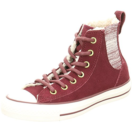 Converse All Star Chelsea Shearling W chaussures 6,0 deep bordeaux