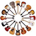 Top Banana Gifts Classic Guitars - Round Wooden Coaster