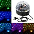Zestyle Disco LED Lichteffekt Discokugel Magic DMX512 RGB Projektor für Weihnachtsparty Disco Party Klub Weihnachten von Zestyle - Lampenhans.de