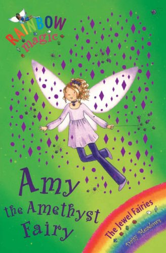 Rainbow Magic: Amy the Amethyst Fairy Cover Image