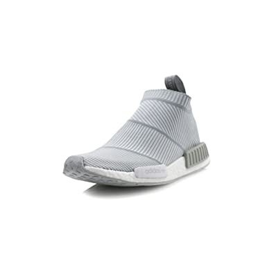 3ff447387 ... Adidas NMD City Sock CS1 PK Primeknit - Grey White Trainer  Amazon.co  ...