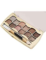 Oyedens 12 Colors Glitter Shimmer Eyeshadow Makeup Eye Shadow Palette (6#)