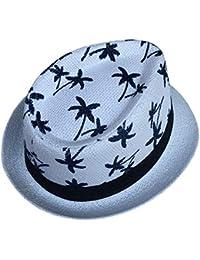 bd597305711e5 Sombrero De Fieltro Estilo Hawaiano para Mujer Moda Jazz Blower Hat Vintage  Acogedor Sombrero De Panamá