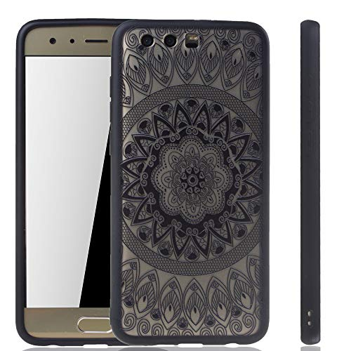 König Design Mandala Hülle geeignet für Huawei Honor 9   Silikon Case Back-Cover Motiv Kreis