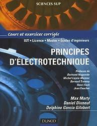 Principes d'électrotechnique : Cours et exercices corrigés