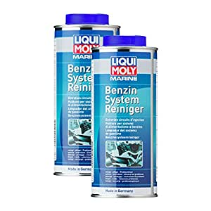 2x liqui moly 25010 marine benzin system reiniger 500ml auto. Black Bedroom Furniture Sets. Home Design Ideas