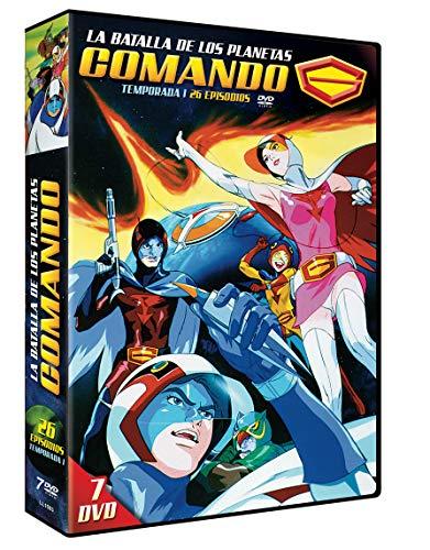 Comando G 7 DVDs Serie Completa