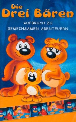 Preisvergleich Produktbild Die drei Bären: Aufbruch zu gemeinsamen Abenteuern. [VHS]