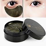 60pcs Augenpads Kollagen Augen Maske Schwarze Perlen Augen-Pads für die Entlastung der dunklen kreis-puffines antifalten-befeuchtende gegen augenringe