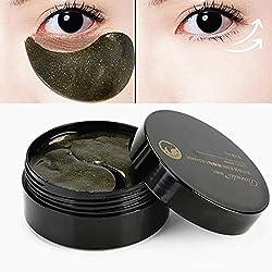 60pcs Eye Pads Collagen Eye Mask Black Pearls Eye Pads For Relieving Dark Circles Puffines Anti Wrinkle Moisturizing Against Dark Circles