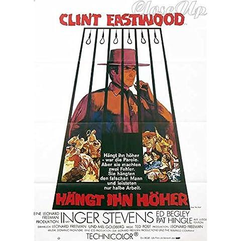 Pendez le alto e corto-Clint Eastwood, 60 x 84 Cm/Poster mostra