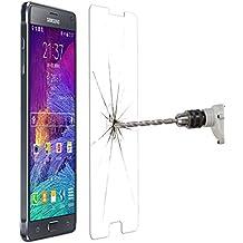 YOUZZON Protector De Pantalla Cristal Templado Para el Samsung Galaxy Note 4 Special