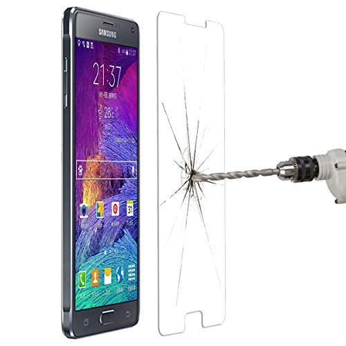 YOUZZON Protector De Pantalla Cristal Templado Para el Samsung Galaxy Note 4...