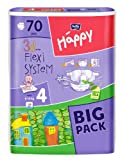 Bella Baby Happy Windeln Größe 4 Maxi 8-18 kg Big Pack, 4er Pack (4 x 70 Windeln)