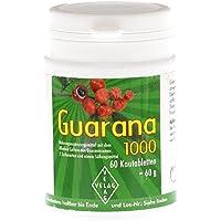 Preisvergleich für GUARANA 1000 mg Kautabletten 60 St Kautabletten
