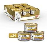 Gourmet Gold Pâté pour Le Chat, avec Agneau et Canard, 85g-Lot de 24pièces