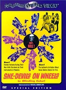 She Devils on Wheels [DVD] [1968] [Region 1] [US Import] [NTSC]