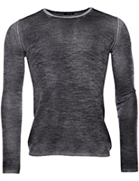 Avant Toi - Pull - Homme gris anthracite