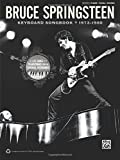 Bruce Springsteen -- Keyboard Songbook 1973-1980: Piano/Vocal/Guitar by Bruce Springsteen(2011-06-01)