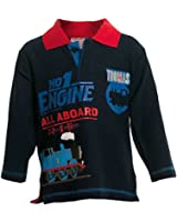 Thomas The Tank Engine Boys Long Sleeve Rugby Top
