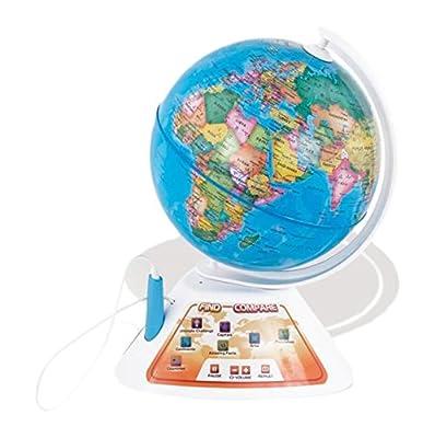 Oregon Scientific - SmartGlobe Discovery, Globe interactif pour découvrir le monde en s'amusant