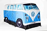 "The Monster Factory - VW CamperTent - Vier-Personen-Zelt in 1:1 VW T1 Campervan ""Bully"" Design, Farbe: Blau"