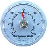 Pared termómetro 65mm Dial–Ideal para habitación, garaje, oficina y dormitorio Control de la temperatura