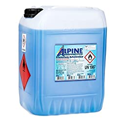 Alpine 0101222 Antifreeze Windscreen Washer, 50-100 ml of concentrate,1 Litre