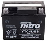 NITRO YTC4L-BS -N- Batteries
