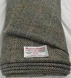 Authentic Harris Tweed Stoff 100% reiner Schurwolle mit ..