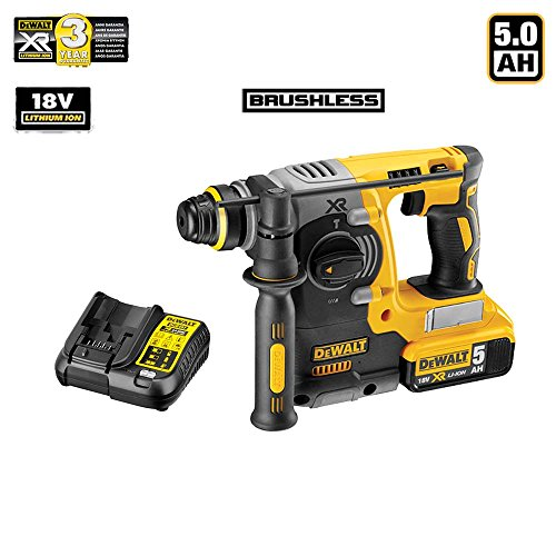 dewalt-dch273p1-sk-marteau-perforateur-brushless-sds-plus-3-modes-18v-xr-1-x-50ah-li-ion-moteur-sans