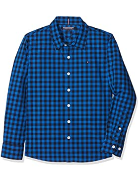 Tommy Hilfiger Big Gingham Shirt L/S, Blusa para Niños