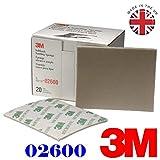 3m 2600micro fine abrasive Softback spugna abrasiva (confezione da 20pz) grade gamma 1200# -1500#