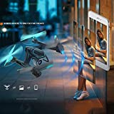 Hanbaili AG-01 One-Touch Return Remote Control Aircraft Drone,Speed Switch Resistant to Crash One Key Take Off,Drone With Headless Mode for Beginner