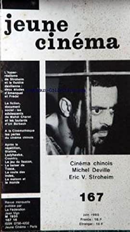 Le Jeune Staline - JEUNE CINEMA [No 167] du 01/06/1985 -