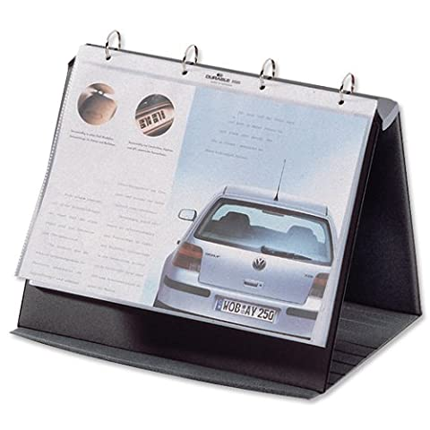 Durable Landscape Durastar Table Top Presenter, A4