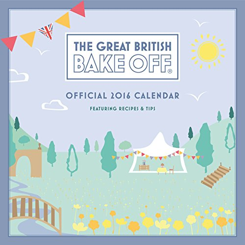 Official Great British Bake Off 2016 Square Wall Calendar