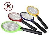 Close Up® Elektroschock elektrische Fliegenklatsche/Insektenkiller mit Metallgitter für Mücken, Fliegen & mehr