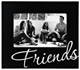 Malden International Designs Friends in Cursive Words Picture - Best Reviews Guide