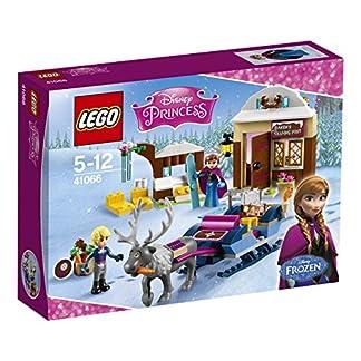 LEGO – Aventura en Trineo de Anna y Kristoff, Multicolor (41066)