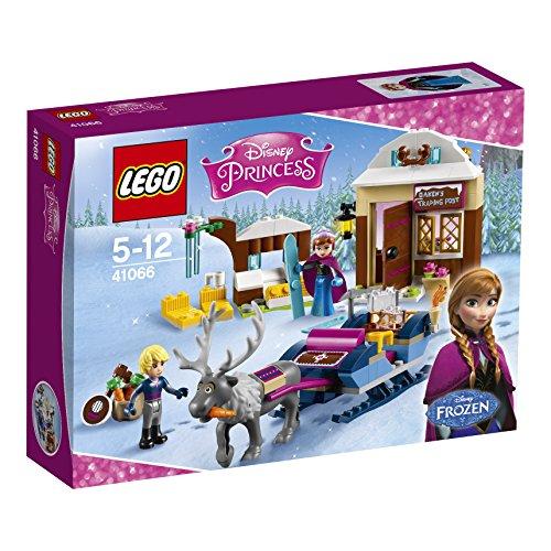 LEGO - 41066 - Disney Princess - Jeu de Construction - Le Traîneau d'Anna et Kristoff