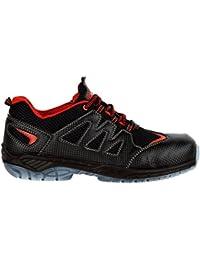 """Cofra 30190–000.w46Talla 46""""Escalada S1P SRC ESD zapatos de seguridad, color negro y naranja"""