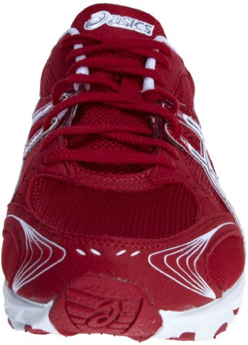 Asics , Chaussures d'athlétisme mixte adulte Rouge - Red/White/Red