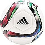Adidas Conext15Glider - Balón de fútbol, color blanco / verde / rojo / negro, tamaño 5